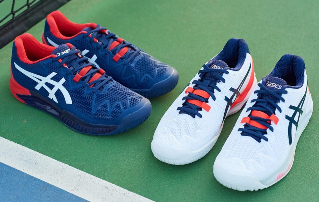 Win the new ASICS GEL-RESOLUTION 8 tennis shoes with full outfit
