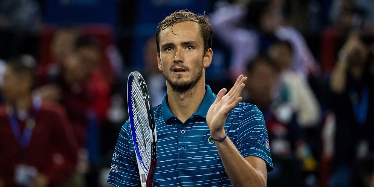 Daniil Medvedev - tipped to challenge Novak Djokovic