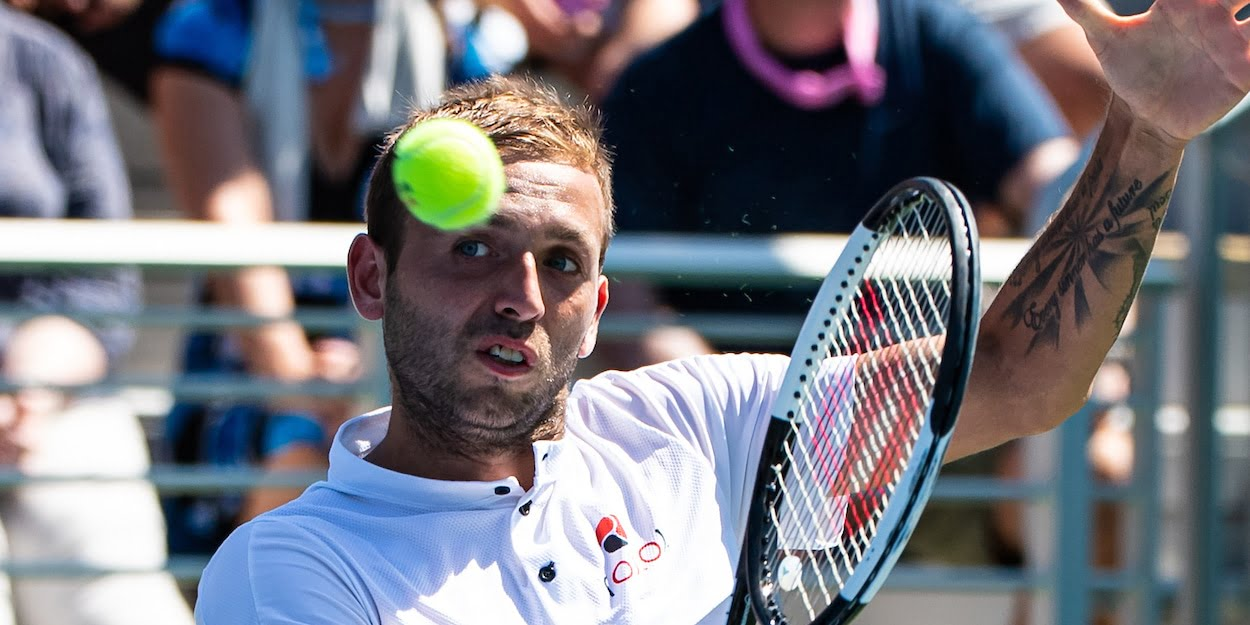 Dan Evans at the 2019 US Open