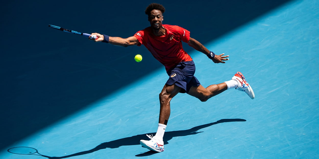 Gael Monfils athleticism