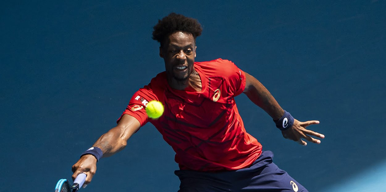 Gael Monfils - the most interesting player in tennis according to Novak Djokovic