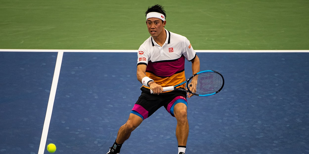 Kei Nishikori at US Open