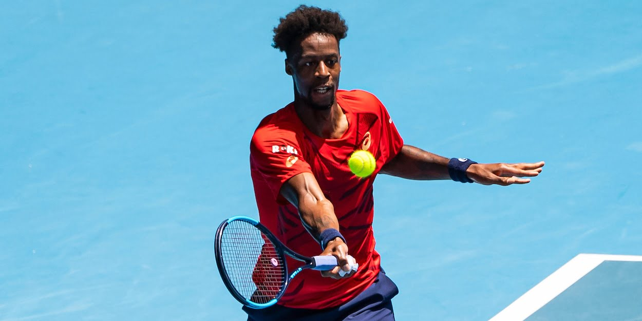 Gael Monfils at the 2020 Australian Open