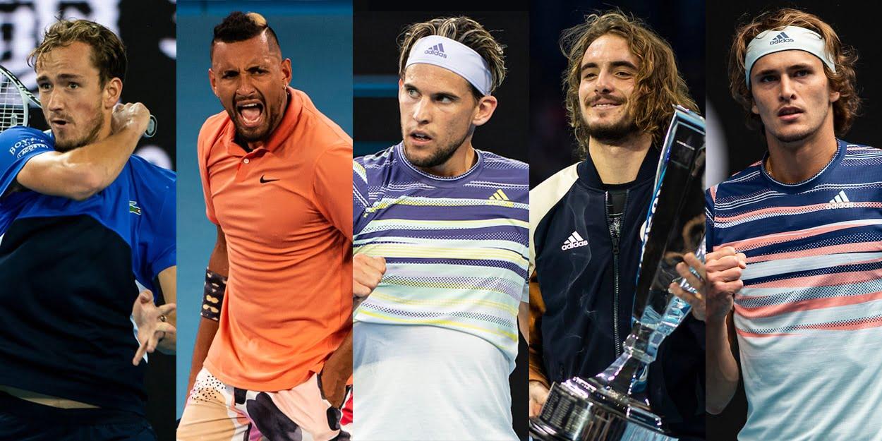 Medvedev Kyrgios Thiem Tsitsipas Zverev possible Rafael Nadal rivals