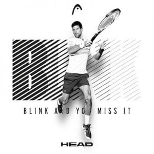 Novak Djokovic Head Speed tennis racket