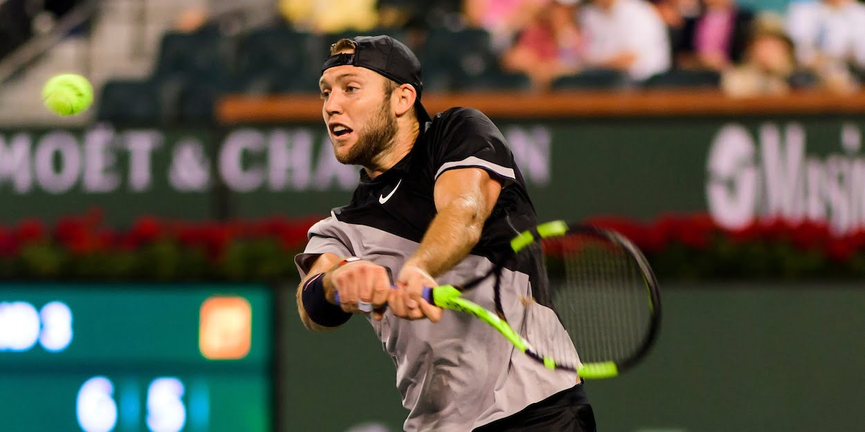 Jack Sock at Indian Wells 2018