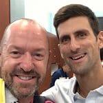 Craig O'Shannessy Novak Djokovic