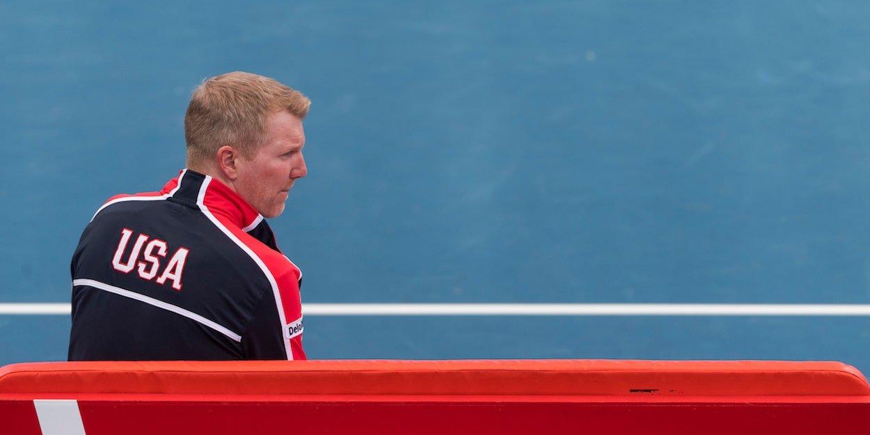 Jim Courier Davis Cup