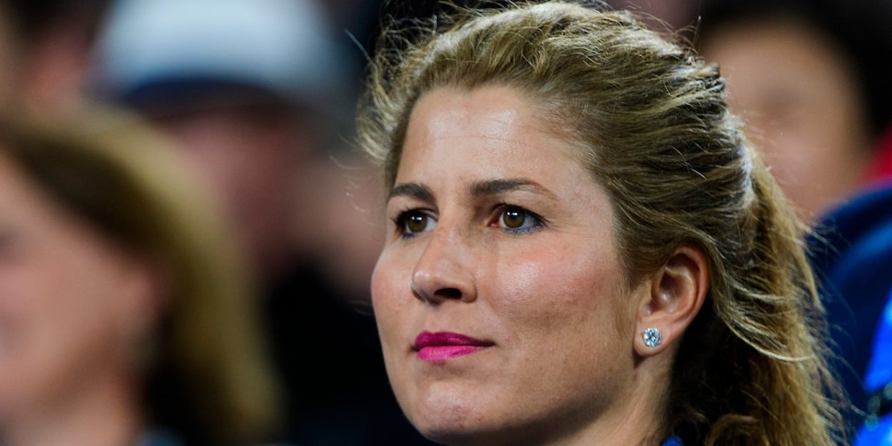 Roger Federer wife Mirka