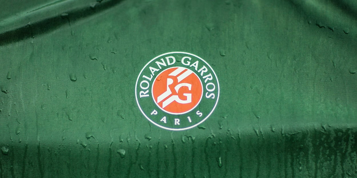 Roland Garros French Open wet