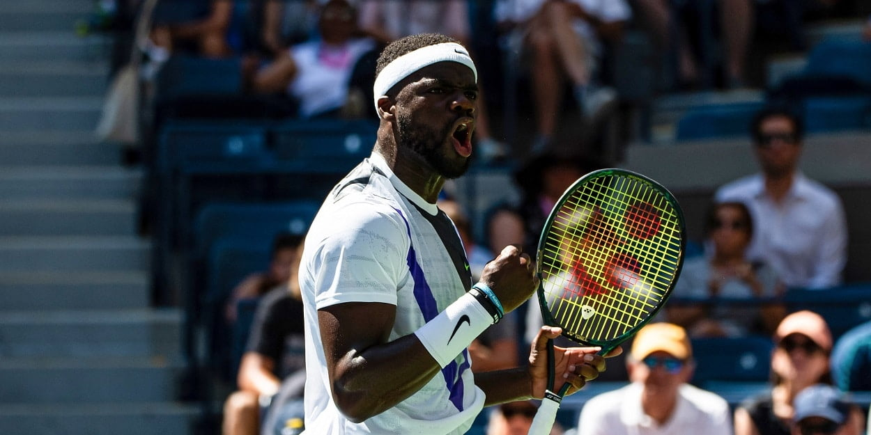 Frances Tiafoe Fist Pump