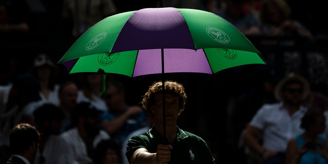 Wimbledon umbrella