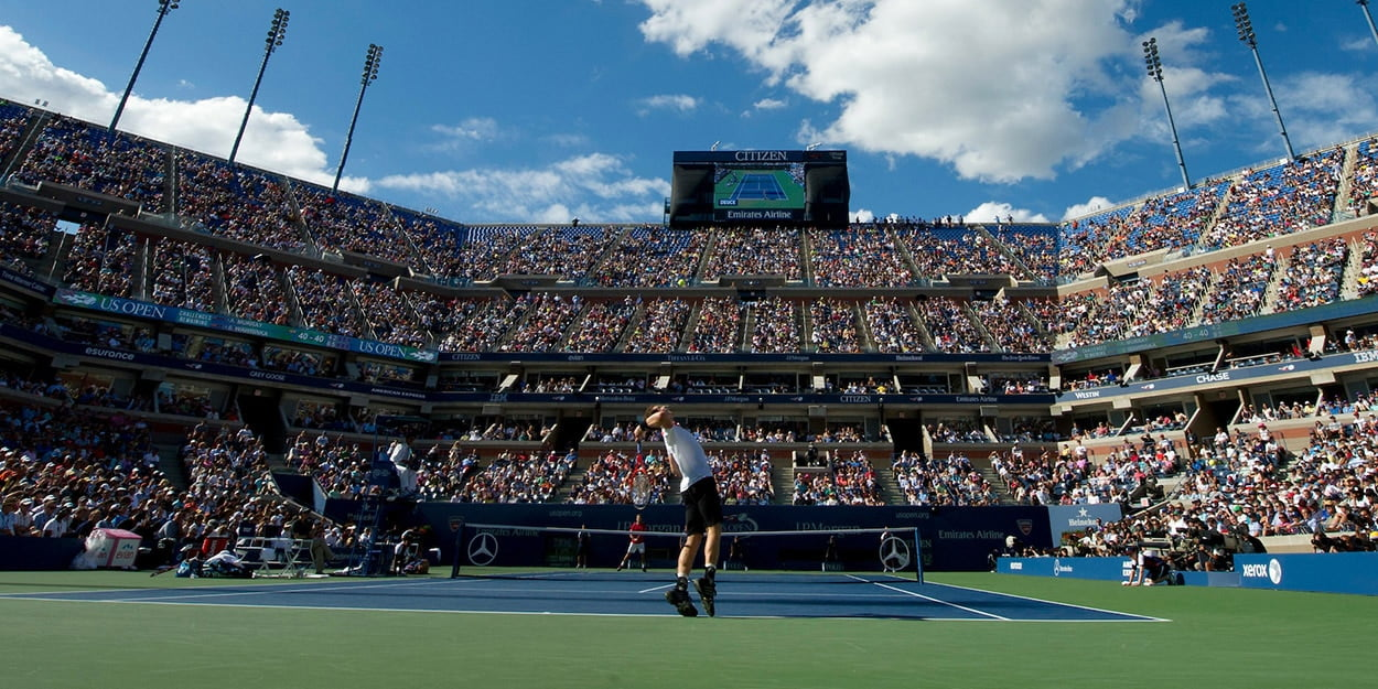 Fans at Flushing Meadows US Open