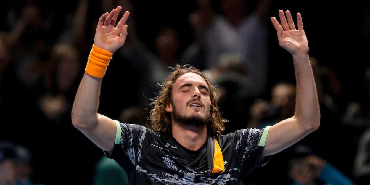 Stefanos Tsitsipas wins ATP Finals