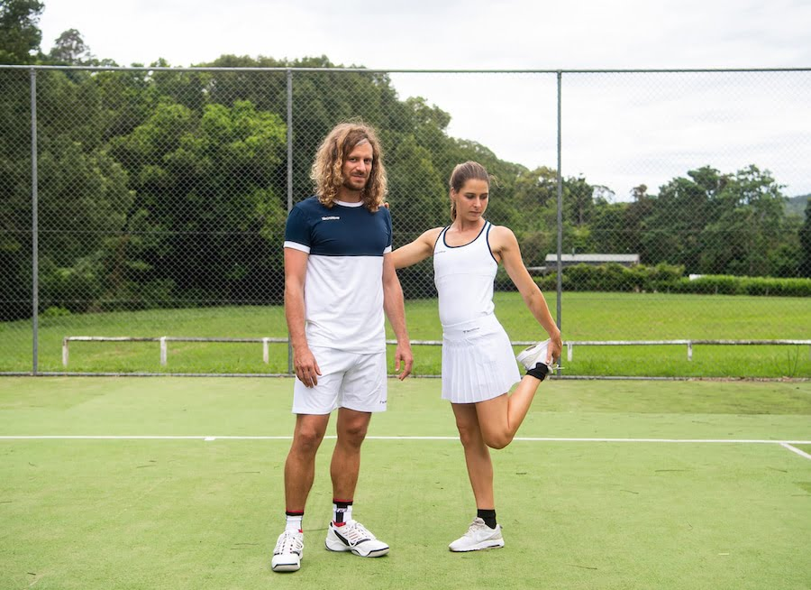Tecnifibre mens and womens tennis clothing
