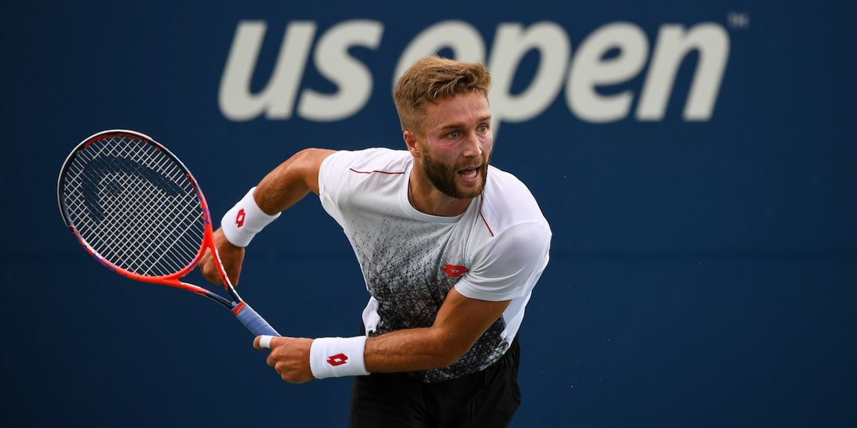 ATP player Liam Broady