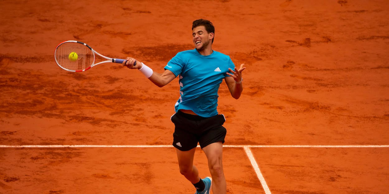 French Open Dominic Thiem 2019 forehand