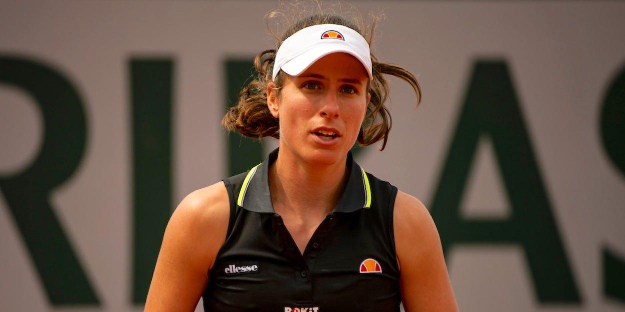 Jo Konta French Open 2019