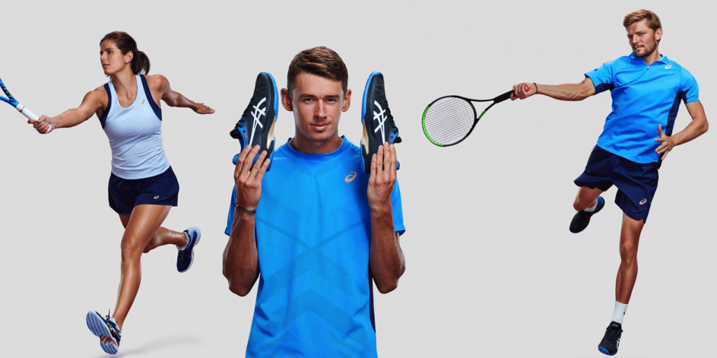 ASICS players Goffin de Minaur Georges