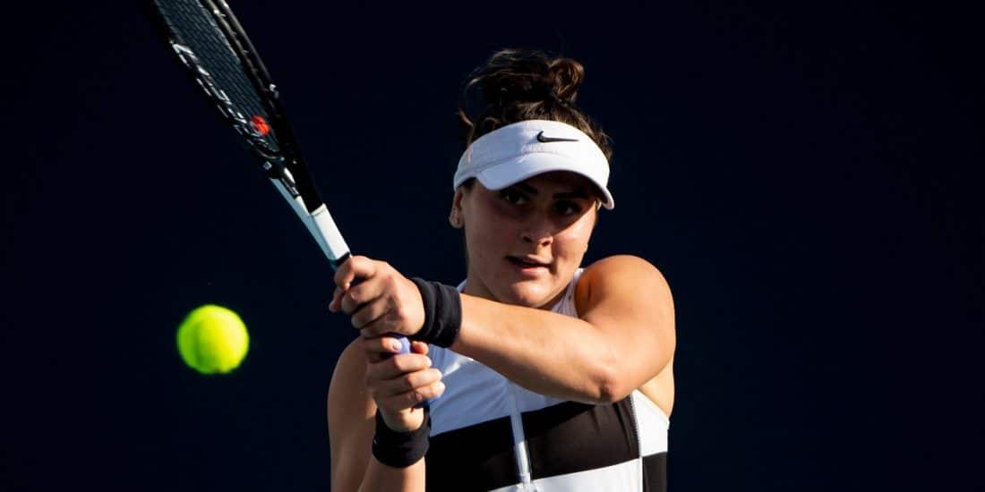 Bianca Andreescu backhand