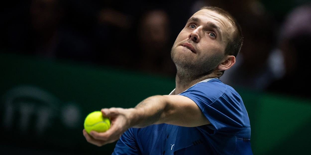 Dan Evans - will have to fight off Andy Murray challenge