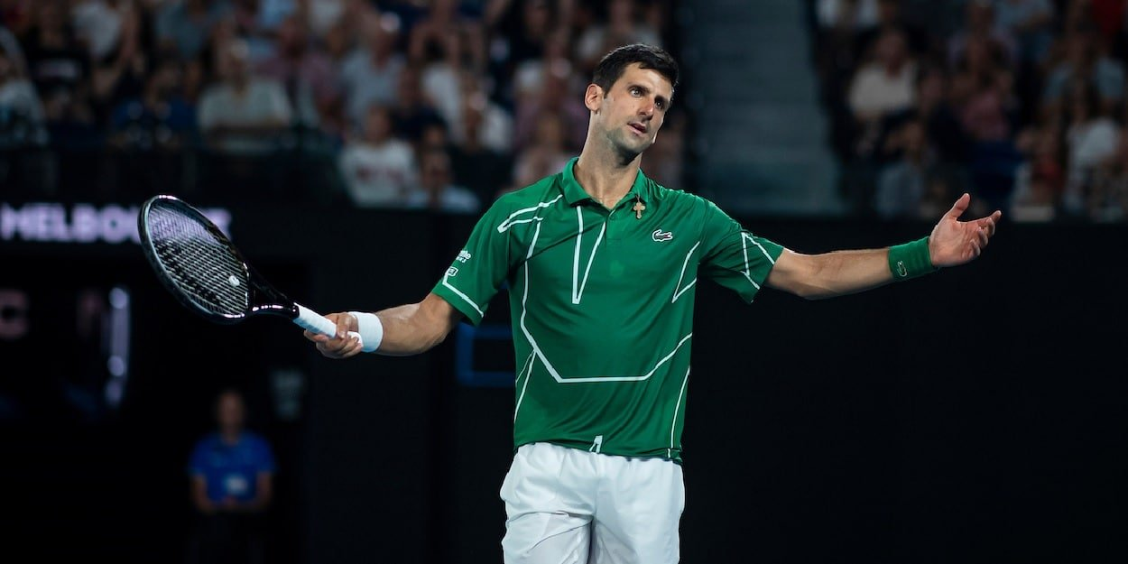 Novak Djokovic Angrily Dismisses Rafael Nadal Accusations Insisting I Made My Decision Months Ago Tennishead