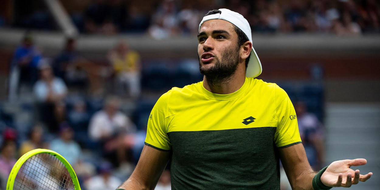 Matteo Berrettini US Open 2019