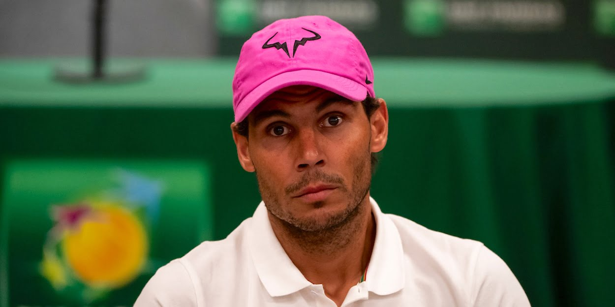 Rafa Nadal press conference
