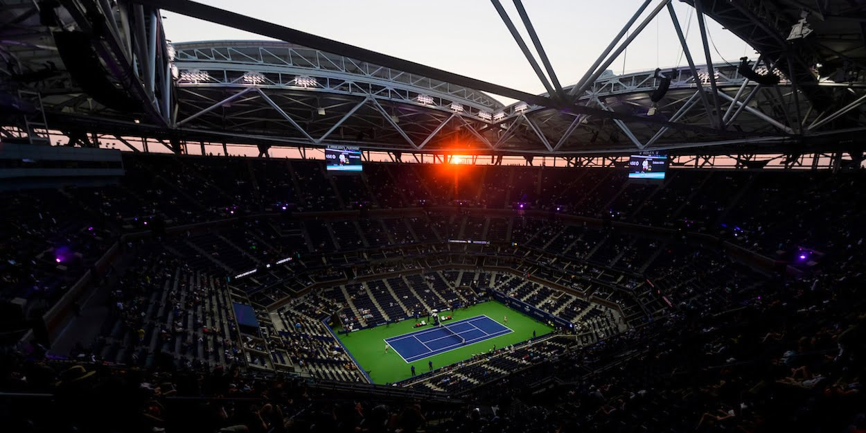 US Open Arthur Ashe court