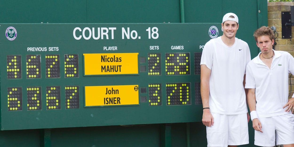 Isner Mahut Wimbledon 2010
