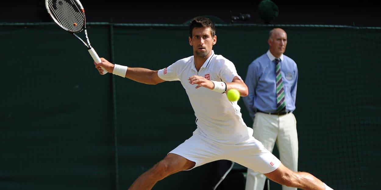 Novak Djokovic Wimbledon Juan Martin del Potro
