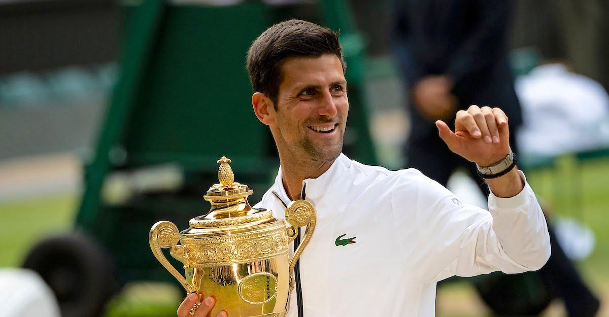 Novak Djokovic Roger Federer Wimbledon final 2019