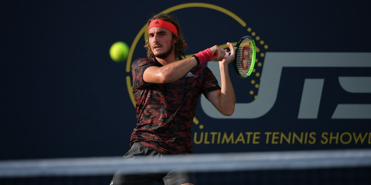 Stefanos Tsitsipas Ultimate Tennis Showdown
