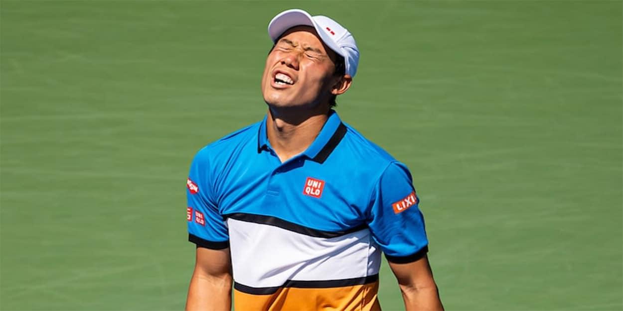 Kei Nishikori - former US Open finalist