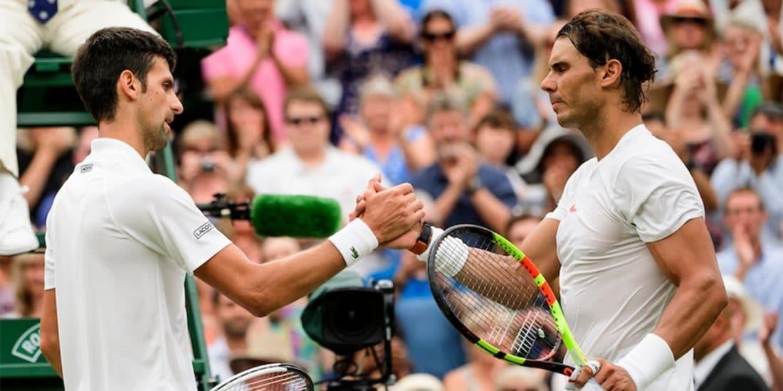 Novak Djokovic Rafael Nadal Wimbledon