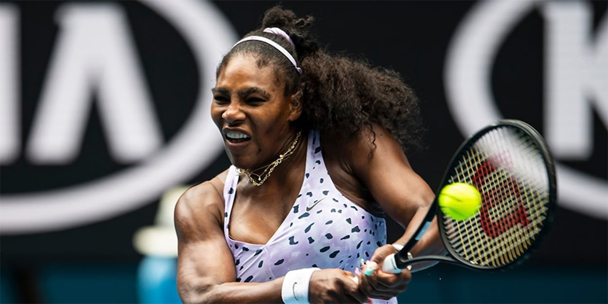 Serena Williams backhand