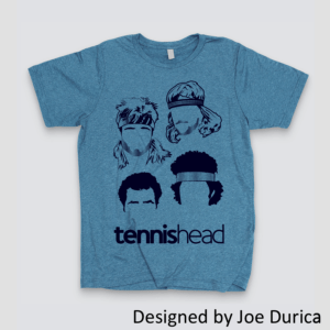Tennishead 'Players' T-Shirt