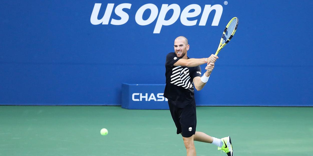 Adrian Mannarino at US Open