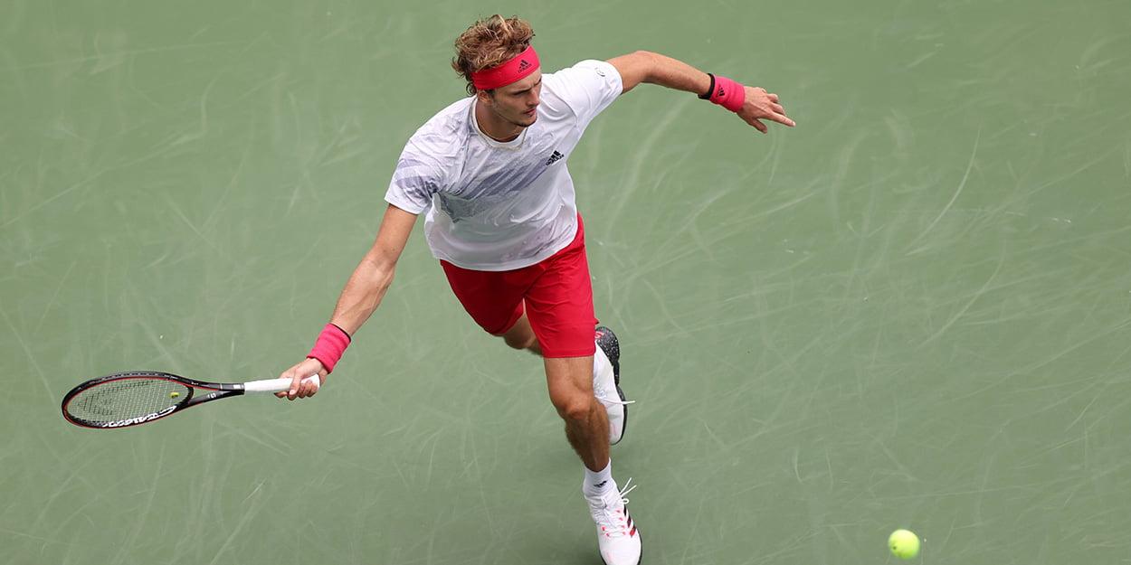 Alexander Zverev at US Open