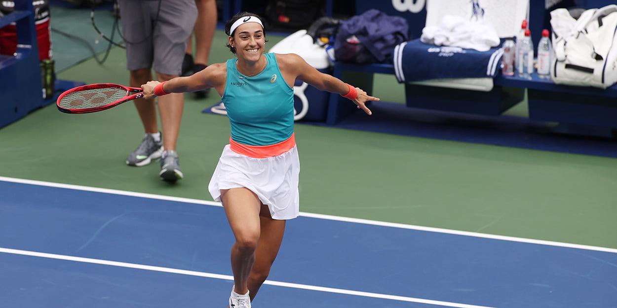 Caroline Garcia at US Open