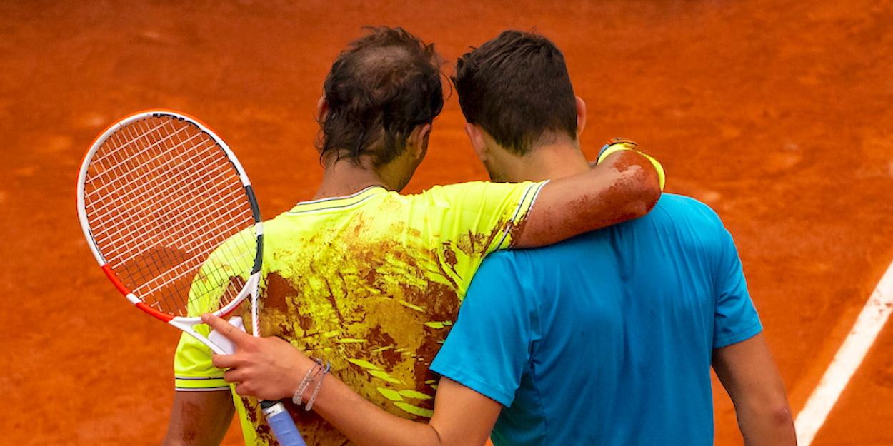 Dominic Thiem Rafa Nadal French Open 2019