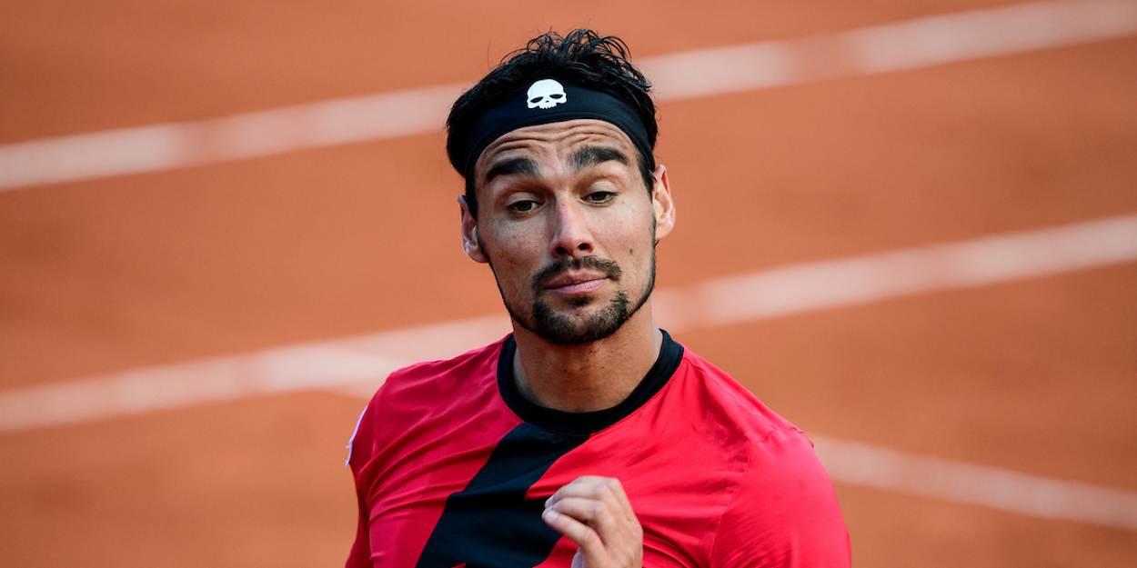 Fabio Fognini French Open