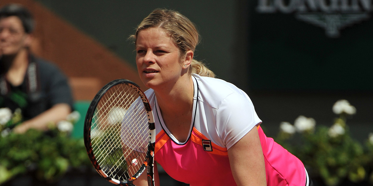 Kim Clijsters - rejected Roland Garros wildcard