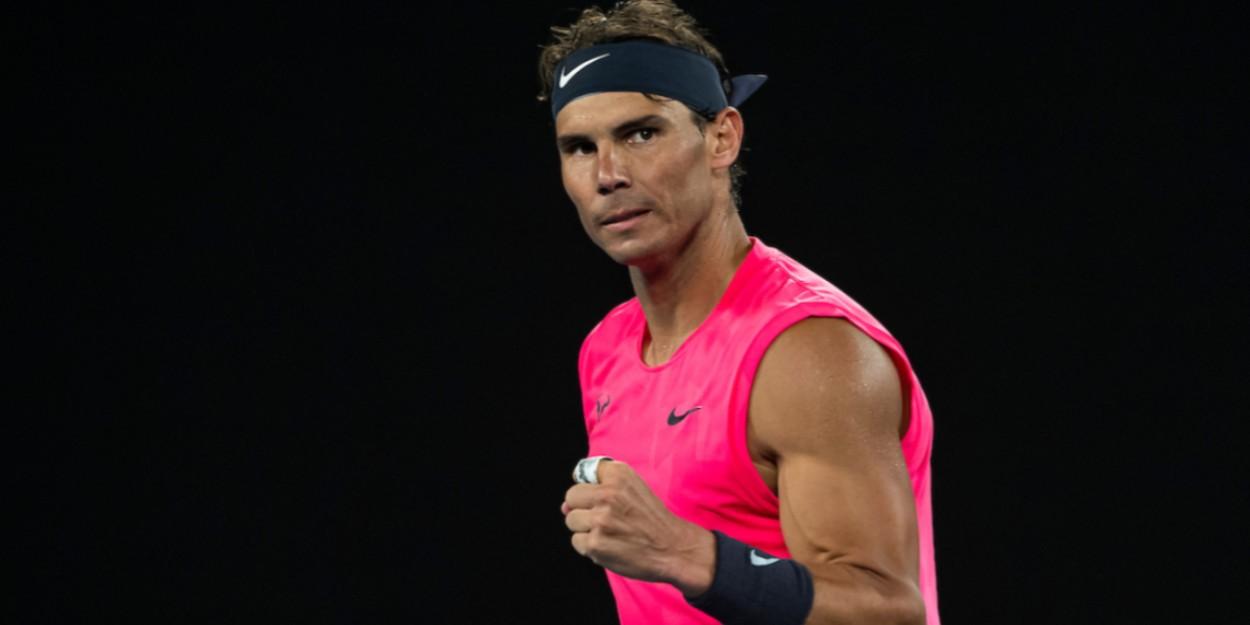Rafael Rafa Nadal fistpump