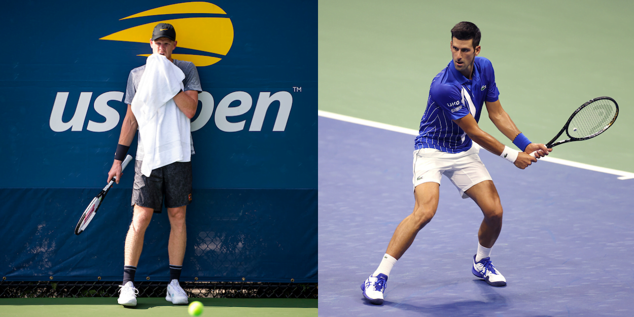 Us Open Live Text Commentary Djokovic V Edmund R64