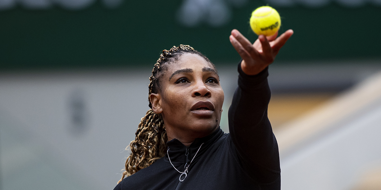 Serena Williams at Roland Garros