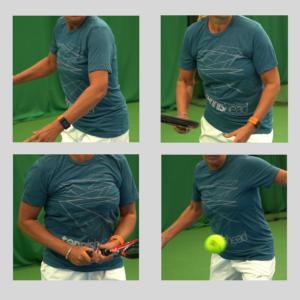 Tennishead t-shirts Court Sue 3