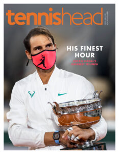 Tennishead magazine October 2020