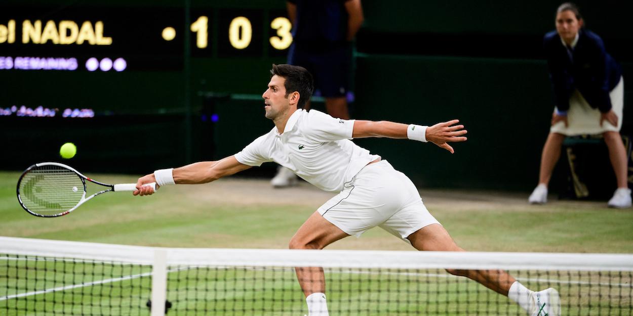 Djokovic beats Nadal Wimbledon 2018