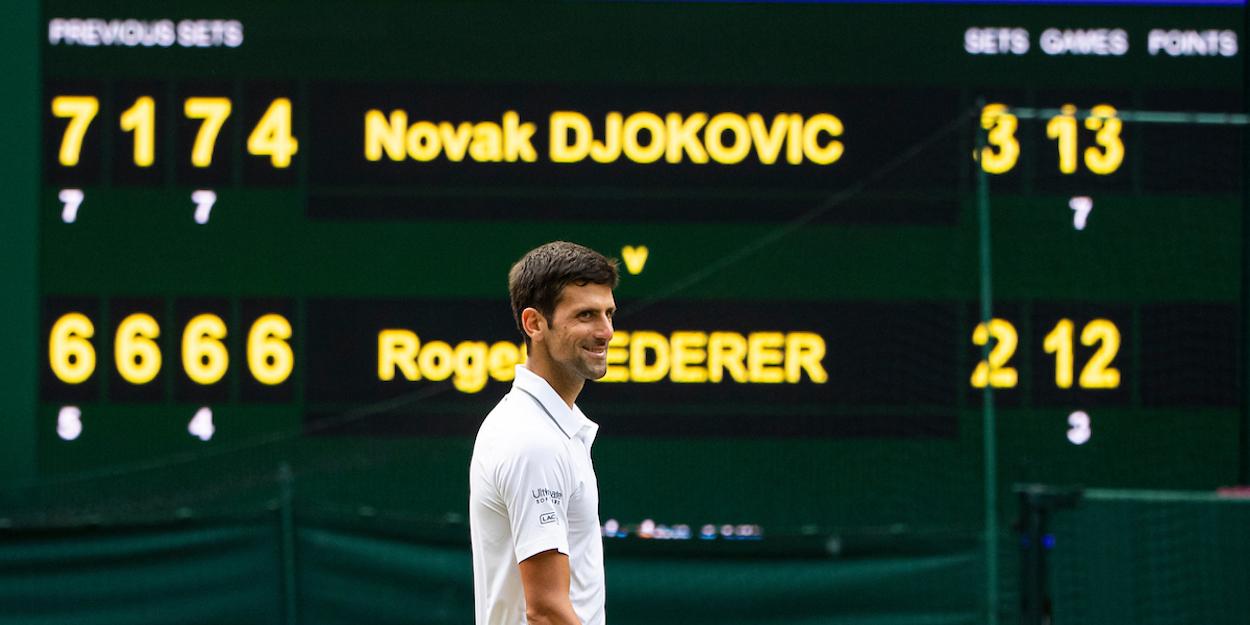 Djokovic beats Federer Wimbledon 2019